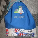 Vreče za copatke modra