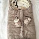 Zimska vreča FILLIKID z rokavičkami 15 €