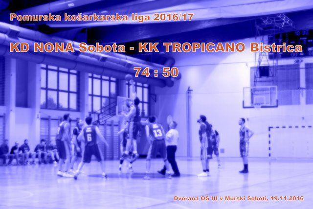 2016 1119 PKL Nona Sobota-Tropicano Bistrica - foto