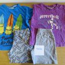 2x kratek rokav pidžama, št. 98/104, cena 3€