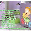 Otroške stenske nalepke , otroška dekoracija, nalepke za otroke deklica