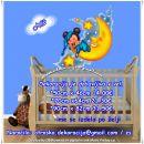 Otroške stenske nalepke , otroška dekoracija, nalepke za otroke miki miška na lunici