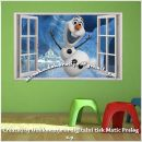Otroške stenske nalepke , otroška dekoracija, nalepke za otroke frozen - olaf