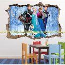 Otroške stenske nalepke , otroška dekoracija, nalepke za otroke frozen