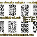 Dekorativne stenske nalepke, dekorativne nalepke, nalepke metulji