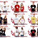 majice  s tiskom valentinovo, darilo ob valentinovem, majice  valentinovo