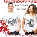 majica za valentinovo , darilo ob valentinovem