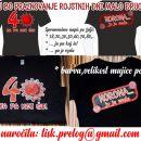 majica corona, majica za 18,20,30,40,50let, darilo za rojstni dan