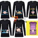 majica pridem, nosečniška majiica, v pričakovanju majica, darilo ob nosečnosti