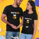 Majica za bodoča starša, majica za nosečko in bodočega atija