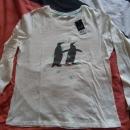 Spalna majica z etiketo- 4€