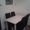 Dva črno/bela stola- nova