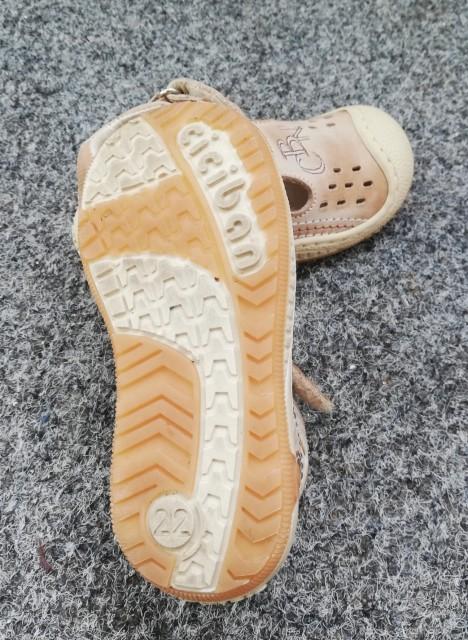 Fantovski ciciban sandali št. 22 - foto
