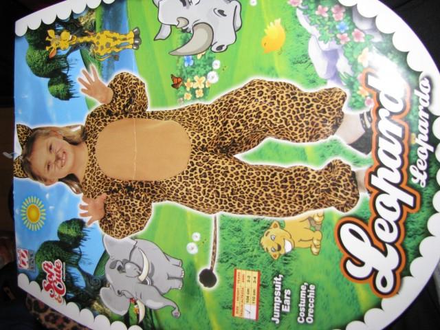 Pustna obleka Leopard - foto