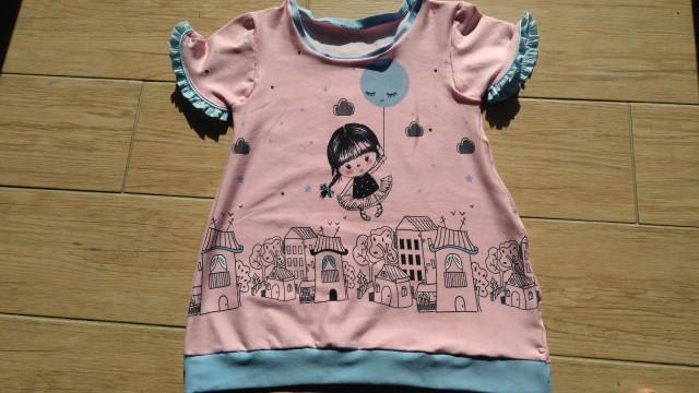 **oblekca/tunika za malo princesko ** - foto