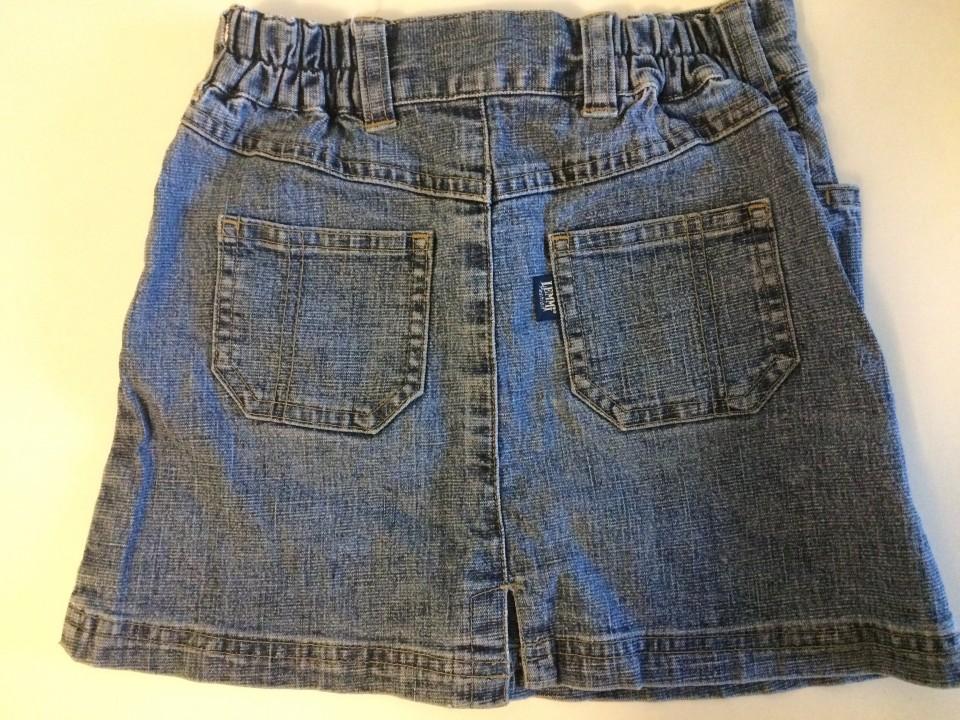 Jeans krilo, 116, 3€