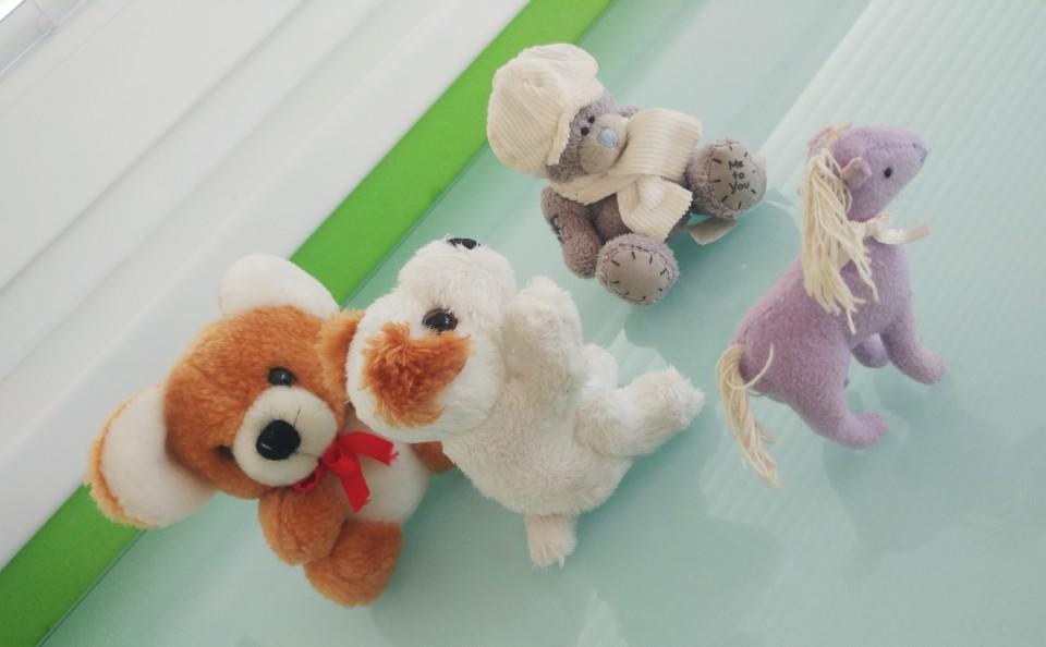 Plišaste igračke - foto povečava