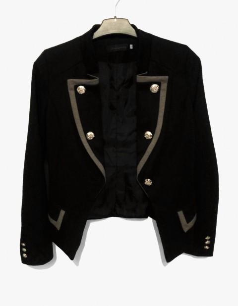 Črn blazer, XS-S (34-36)