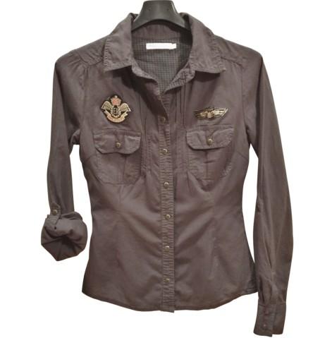 Siva srajca Army, XS-M (32-36)