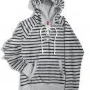 Črno-siv pulover, XS-M (34-36)