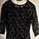 Lace črna majčka, XS (34)