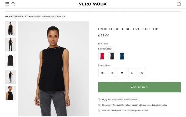 Majica Vero moda, S-M (36-38)