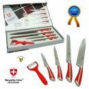 Set nožev iz nerjavečega jekla