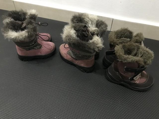 Ciciban zimske čevlje za punce velikost 21, 22 in 24