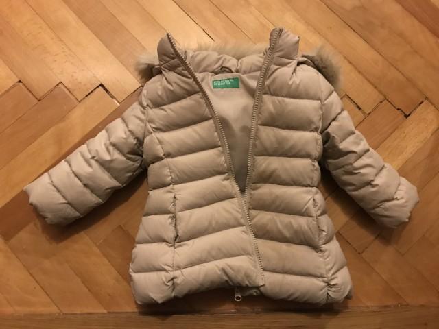Zimska jakna benettoon za punčke velikost 82