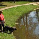 Emil in Dona v parku na Ptuju