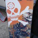 Igor's snowboard ~ crashed
