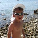 KRK - Njivice, Erik na plaži