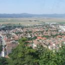 Panoramski pogled iz gradu Rasnov