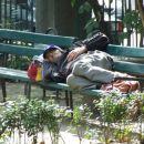 Bukarešta - park C. z botaničnim vrtom - dom za brezdomce