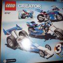 lego kocke nove, Creator, dirkalni motor 3v1 - 16eur