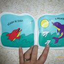 knjigica, tudi za v vodo - 3 eur