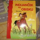 knjiga Indijanček na obisku - nova - 4 eur