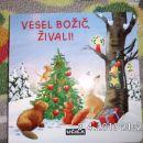 knjiga Vesel božič živali - 4 eur