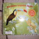 Narišimo tropske živali - 6 eur