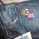 Nove hlače kavbojke 122, 13 eur