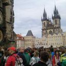 Astronomska ura v Pragi in trg
