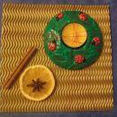za dekoracijo pomaranča