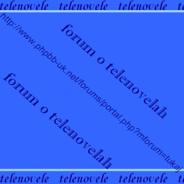 Telenovele portal - foto