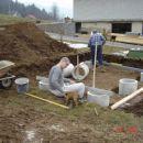 pesjak v izdelavi - temelji