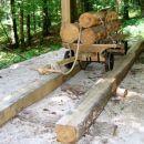 Majnšk - povratek nazaj do Idrijce in nadaljevanje navzgor do Laufa, gozdne železnice iz l