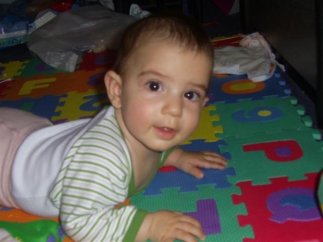 Tamara 6-7 mesecev - foto povečava