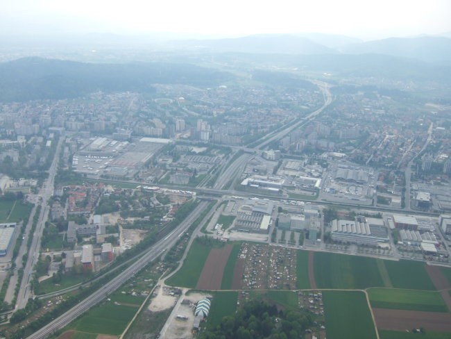 Ljubljana iz zraka - foto povečava