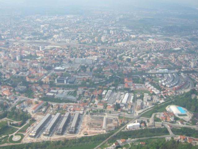Ljubljana iz zraka - foto