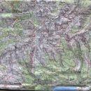 Zemljevid TRIGLAV Z OKOLICO