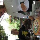 takole nam je Nastaša dodelila vsakemu en košček Sandrine tortice.